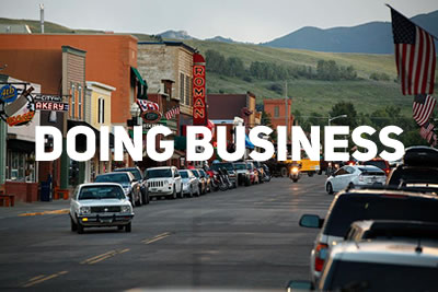 Doing Business in Red Lodge Montana